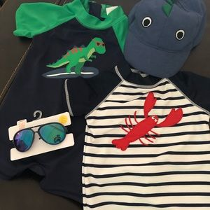 Baby Boy Swim/Summer Package - 3-6mo